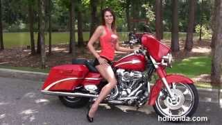 4. Used 2010 Harley Davidson CVO Street Glide Motorcycles for sale