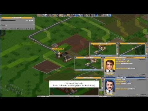 Let's Play - Open Transport Tycoon Deluxe - Díl 1