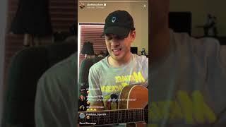 """Clark Beckham - """"Hocus Pocus"""" - Instagram Live 5/12/18"""
