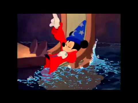 ディズニー映画『ファンタジア』より「弟子の目覚め~魔法使いの弟子」