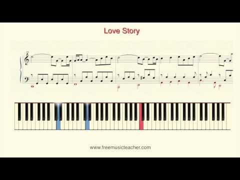 "How To Play Piano: Richard Clayderman ""Love Story"" Piano Tutorial by Ramin Yousefi"
