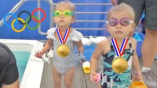 BABY OLYMPIC SWIMMERS