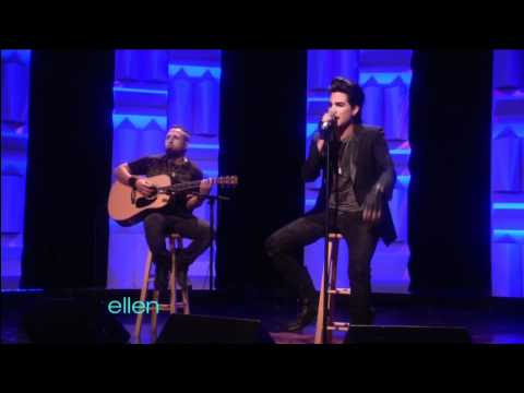"The Ellen DeGeneres Show: Adam Lambert – ""Whataya Want from Me"" Acoustic (February 10th, 2011)"
