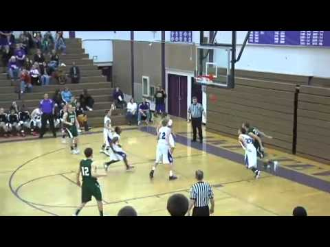 Seattle - Jackson High's Sam Brown spin move and fade-away jumper