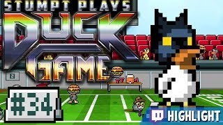 Stumpt plays more Duck Game! This time around, Rik really gets off to a strong start - but can his buns take on the Dark Duck??►Duck Game PLAYLIST: http://stum.pt/1M3VQCd► Follow us:  ●NEW Website: http://Stumpt.tv  ●Discord: https://discord.gg/stumpt  ●Twitch: http://twitch.tv/stumptgamers  ●Twitter: http://twitter.com/stumptgames  ●Stumpt Gamers: PO Box 83914, PORTLAND OR 97283  ●Merch Store:  http://store.stumpt.tv/Find out more about this game here: http://store.steampowered.com/app/312530/