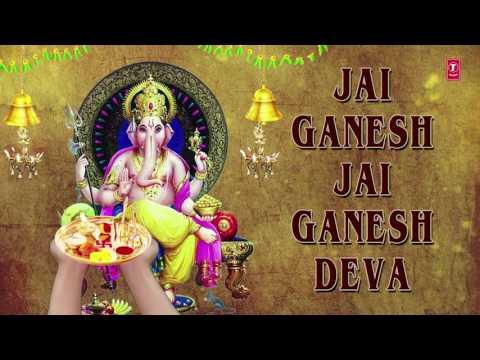 Video Ganesh Aarti, JAI GANESH DEVA by Anuradha Paudwal  I Full Audio Song download in MP3, 3GP, MP4, WEBM, AVI, FLV January 2017