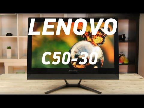 Lenovo C50-30 (F0B100P4UA) - компьютер-моноблок с FullHD-экраном - Видеодемонстрация от Comfy.ua
