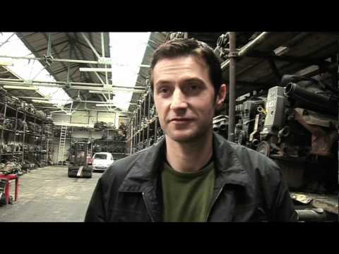 Spooks Series 7 DVD Extra - Chase Sequence
