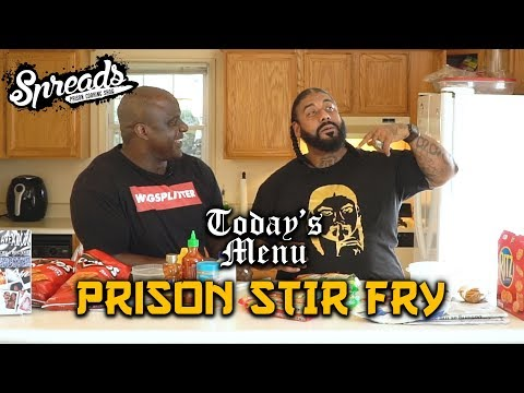 Learn how to make Prison Stir Fry - Spreads 2.7