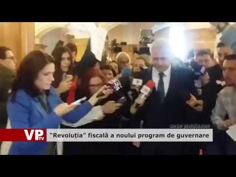Revolutia fiscală a noului program de guvernare