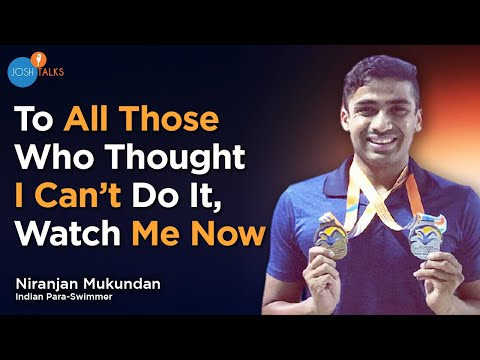 The story of Niranjan Mukundan - Indian para-swimmer