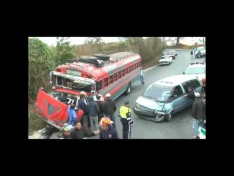 Accidente en Fraijanes