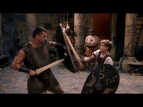 Octavian - Never fear, young Dominus. We'll make a regular terror of you. At best I will be a middling swordsman. It's better than nothing. There you are wrong. The gra...