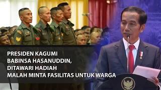 Video PRESIDEN KAGUMI BABINSA HASANUDDIN, DITAWARI HADIAH MALAH MINTA FASILITAS UNTUK WARGA MP3, 3GP, MP4, WEBM, AVI, FLV Desember 2018