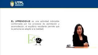 UTPL EL DESARROLLO COGNITIVO DE JEAN PIAGET [(PSICOLOGÍA)(PSICOLOGÍA DEL APRENDIZAJE)]