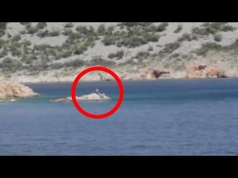 Real Mermaid caught on camera in Mallorca, Spain on 10/20/2013