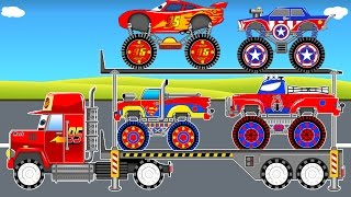 Color Car TransportationOther fun videos:Color offroad carhttps://youtu.be/oa8j6mN188wPlanes on truckhttps://youtu.be/ft-WlopH7vQColor bus on carhttps://youtu.be/O7rsypQiXkQHelicopter on truck https://youtu.be/oNEHv-V1FaELearn Color Car Transportationhttps://youtu.be/fKLzx5yMxeI