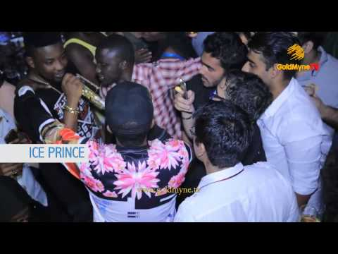 GOLDMYNETV: EXCLUSIVE! REMINISCE, CYNTHIA MORGAN AND ICE PRINCE AT THE NIGERIAN IDOL EVICTION PARTY