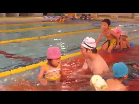 はちまん保育園 夏のプール遊びスタート!ゆり組編