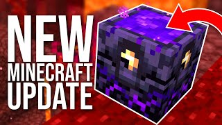NEW Minecraft Nether Snapshot 20w12a: Respawn Anchor, Polished Basalt, Riding Piglins, and more!