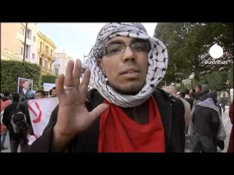 Liberation march in Tunis wants interim PM out