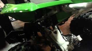 3. 2014 Kawasaki KFX450R First Look Walk Around/Review