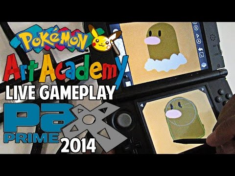 Academy - Make sure you drop a LIKE if you're looking forward to Pokémon Art Academy!! :D WHAT'S GOOD YOUTUBE?! Watup! Today we've got some