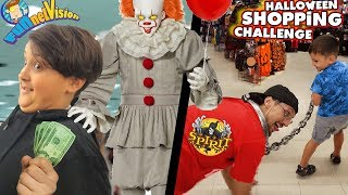 HALLOWEEN SHOPPING CHALLENGE (FV Family Spirit Store Vlog)