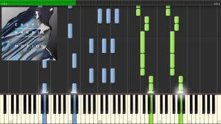 Calvin Harris - OUTSIDE - Piano Tutorial (WITH SHEETS)