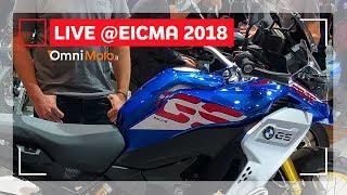 BMW F850 GS Adventure e R 1250 GS Adventure | EICMA 2018