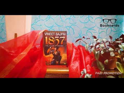 Booknerds Unboxing   Vineet Bajpai   1857: The Sword of Mastaan
