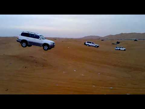 Land cruiser accident