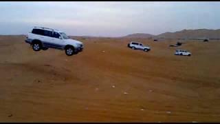 Land cruiser accident