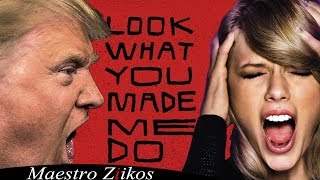 Video Trump Sings Look What You Made Me Do by Taylor Swift / NOW ON iTUNES MP3, 3GP, MP4, WEBM, AVI, FLV Januari 2018