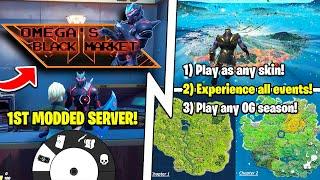 Fortnite's 1st MODDED Server, Play OG Chapter 1 & ALL Events, 15.20!