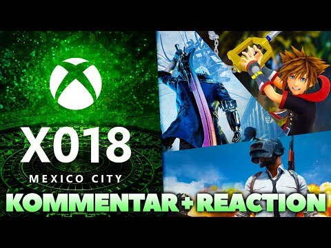 X018 - Neues Zu KINGDOM HEARTS 3, Devil May Cry 5 Uvm! Live Reaction + Kommentar!