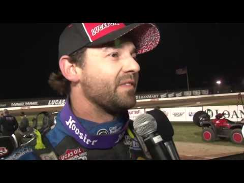 Lucas Oil MLRA - Midwest Latemodel Racing Association - Travis Dickes Captures First-Ever MLRA Main Event