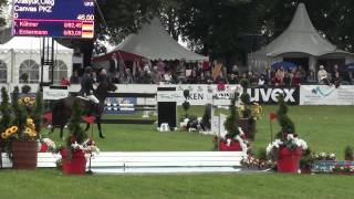 Oleg Krasyuk & Canvas PKZ CSI*** Munchen-Riem Rolex Cup 145 2011