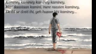 Kaminey song lyrics actor :shahid kapoor