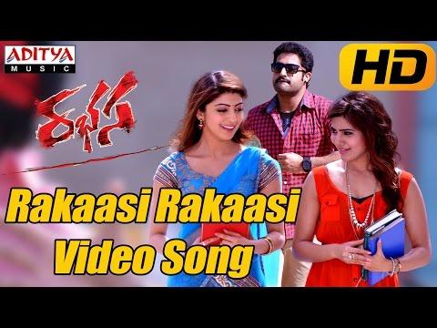 Rakaasi Rakaasi Full Video Song  Rabhasa Video Songs  Jr Ntr Samantha Pranitha