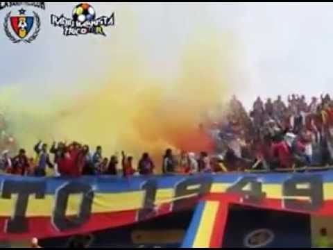 Tribuna Sur carnaval Tricolor - Attake Massivo - Deportivo Pasto