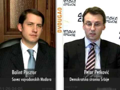 Dvougao - Balint Pasztor (SVM)  - Petar Petković (DSS)-cover
