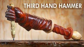 Video Making a Hand Holding Stake Punch Hammer MP3, 3GP, MP4, WEBM, AVI, FLV Juli 2018