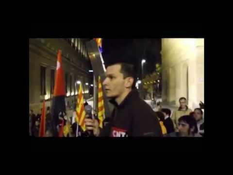 [CNT-Zaragoza] Discurso final tras manifestación huelga general 14-Noviembre 2012