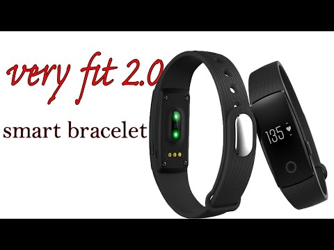 VERY FIT 2.0 Smart band Fitness Tracker -ID107.REVIEW