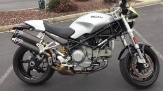 10. Contra Costa Powersports-Used 2006 Ducati S2R 1000 MONSTER V-twin sport motorcycle
