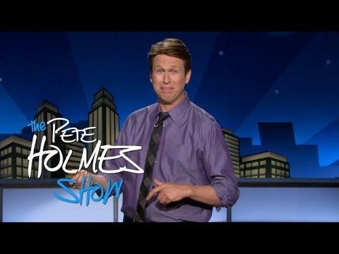 Pete Holmes on why he's always laughing. The man has a point.