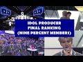 Idol Producer Final Ranking (NINE PERCENT MEMBERS)