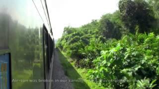 Jerantut Malaysia  City new picture : Jungle Train, Malaysia [0508 Jerantut - Tumpat] 2013.10.30