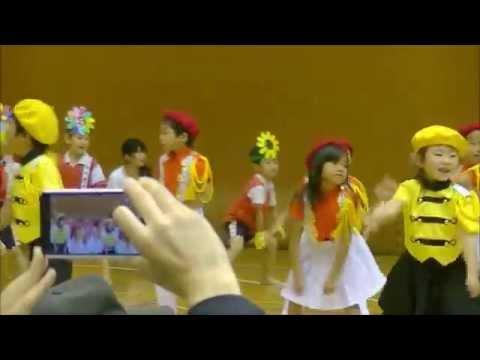 ソーラン節(新利根つばさ保育園、江戸崎保育園)☆茨城県 稲敷市文化祭2014